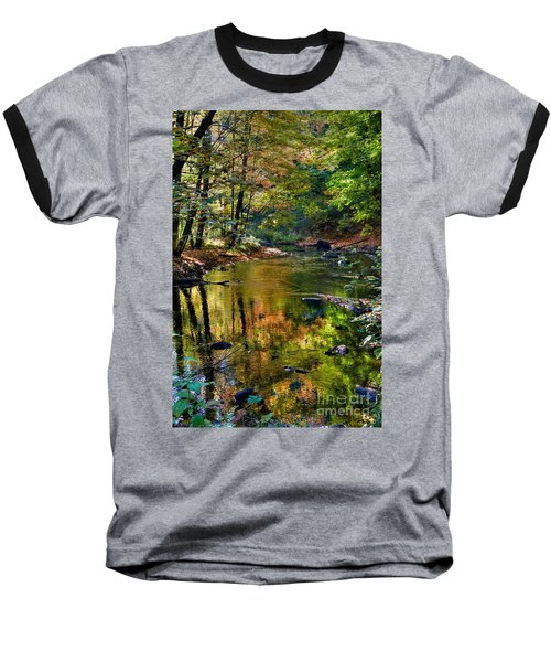 Baseball T-Shirt featuring the photograph Color Creek by Robert Pearson