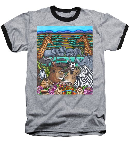Colours Of Africa Baseball T-Shirt