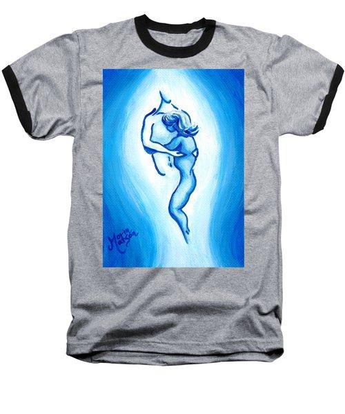 Comfort In Blue Baseball T-Shirt