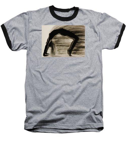 Coming Apart 6 Baseball T-Shirt by Michael Cross