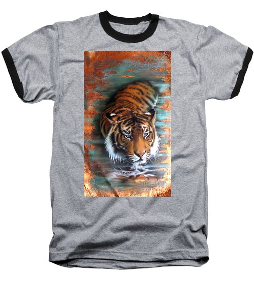 Copper Tiger II Baseball T-Shirt