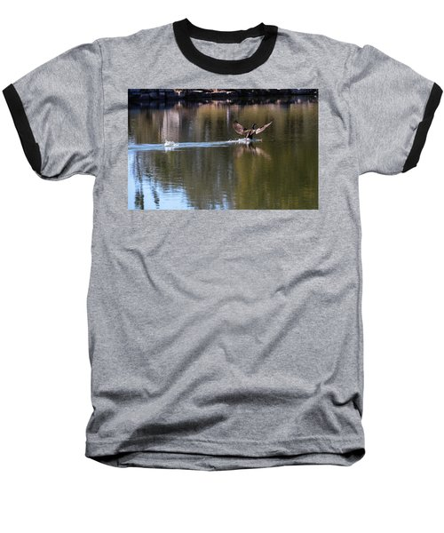 Cormorant Landing Baseball T-Shirt
