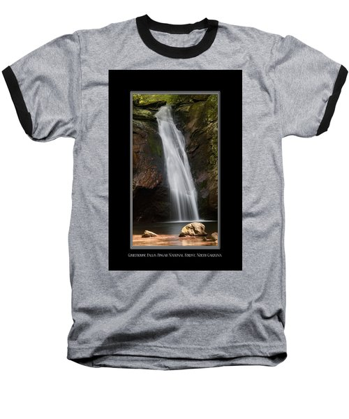 Courthouse Falls North Carolina Baseball T-Shirt