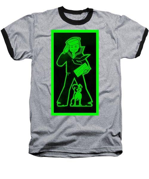 Crackerjack Green Baseball T-Shirt