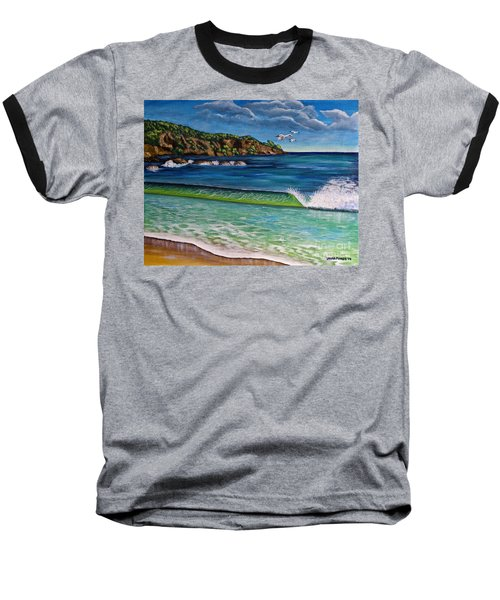 Crashing Wave Baseball T-Shirt