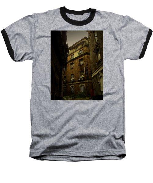 Crime Alley Baseball T-Shirt by Salman Ravish