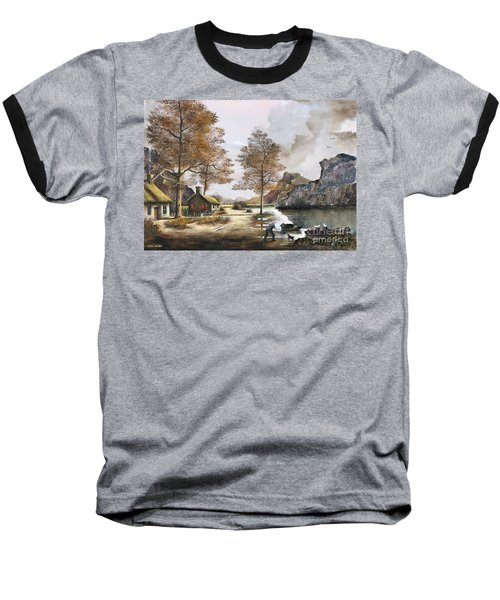 Crofters Cottages Baseball T-Shirt