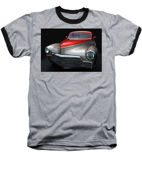 Baseball T-Shirt featuring the photograph Custom Car Detail by Dave Mills