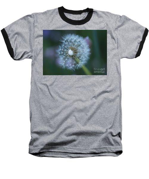 Dandelion Baseball T-Shirt by Alana Ranney