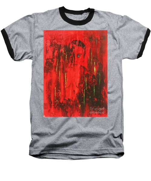 Dantes Inferno Baseball T-Shirt by Roberto Prusso