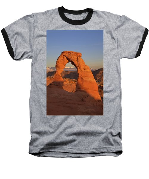 Delicate Arch At Sunset Baseball T-Shirt