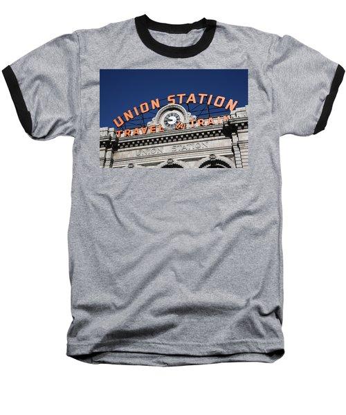 Denver - Union Station Baseball T-Shirt