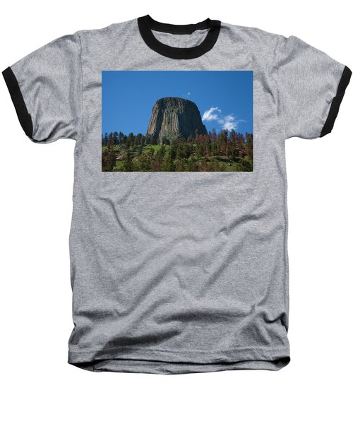 Devil's Tower Baseball T-Shirt
