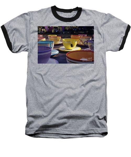 Disneyland Rides Mad Tea Party Ride Anaheim California Usa Baseball T-Shirt