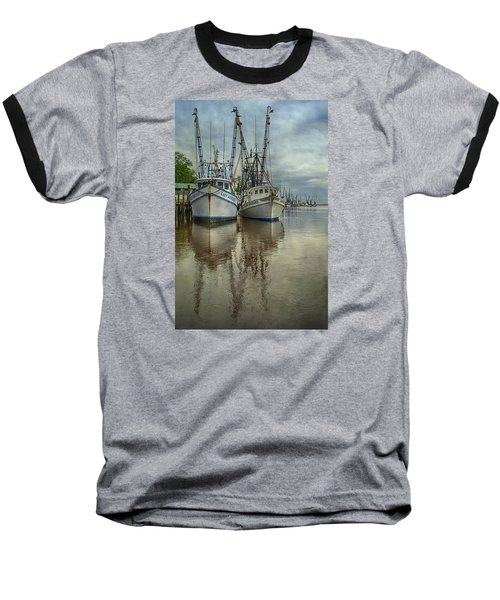 Baseball T-Shirt featuring the photograph Docked by Priscilla Burgers