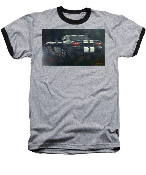 Dodge Viper 2 Baseball T-Shirt
