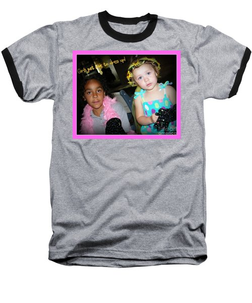 Baseball T-Shirt featuring the photograph Dress-up Time by Bobbee Rickard