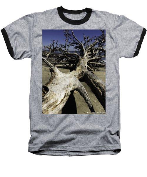 Driftwood Baseball T-Shirt by Fran Gallogly