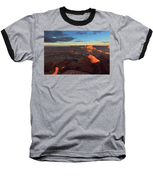 Early Morning At Dead Horse Point Baseball T-Shirt