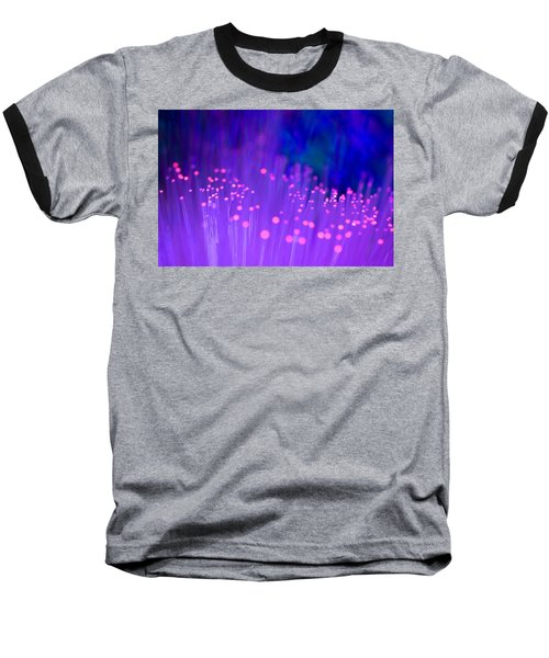 Baseball T-Shirt featuring the photograph Electric Ladyland by Dazzle Zazz