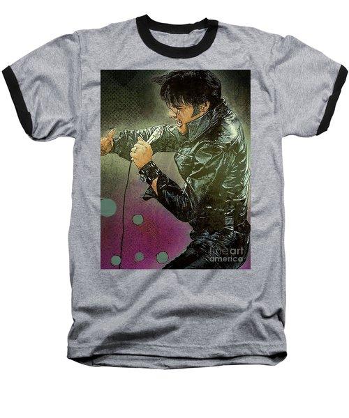 Elvis  Baseball T-Shirt