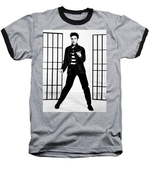 Elvis Presley Baseball T-Shirt