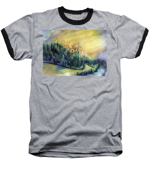 Enchanted Island Baseball T-Shirt
