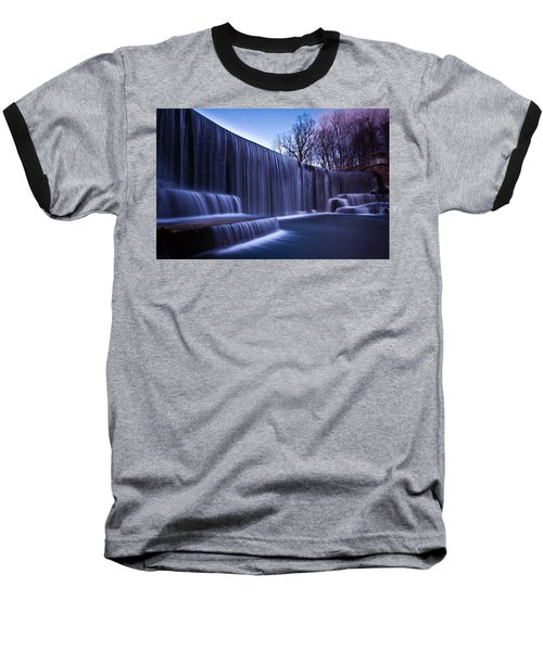 Baseball T-Shirt featuring the photograph Falling Water by Mihai Andritoiu