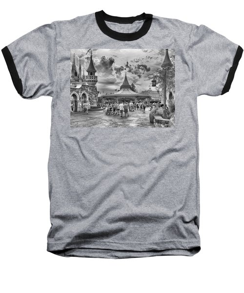 Baseball T-Shirt featuring the photograph Fantasyland by Howard Salmon