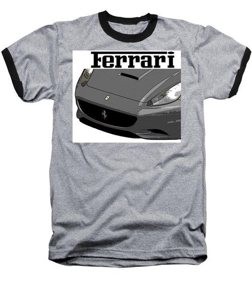 Ferrari Baseball T-Shirt