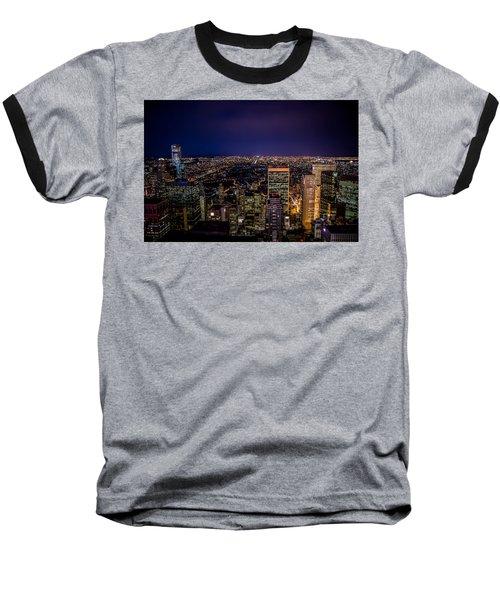 Field Of Lights And Magic Baseball T-Shirt
