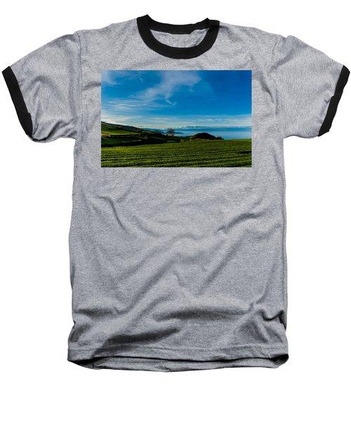 Field Of Tea Baseball T-Shirt