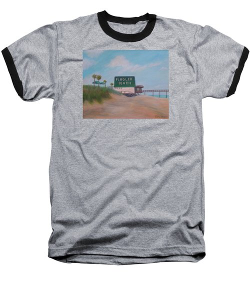 Flagler Beach Florida Baseball T-Shirt