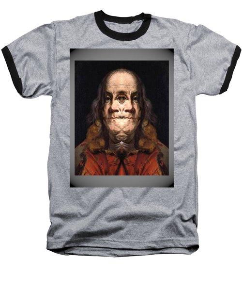 Flipped Ben 2 Baseball T-Shirt