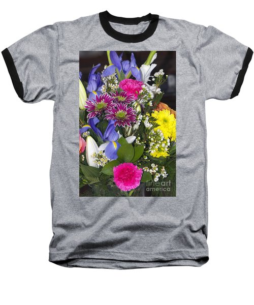 Floral Bouquet 2 Baseball T-Shirt