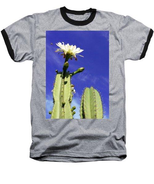 Baseball T-Shirt featuring the photograph Flowering Cactus 2 by Mariusz Kula