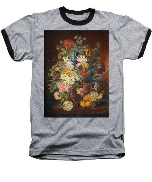 Flowers Of Light Baseball T-Shirt