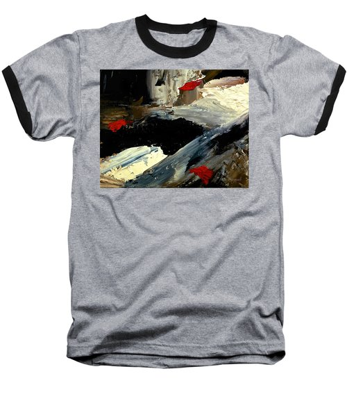 Flume Baseball T-Shirt by Dick Bourgault
