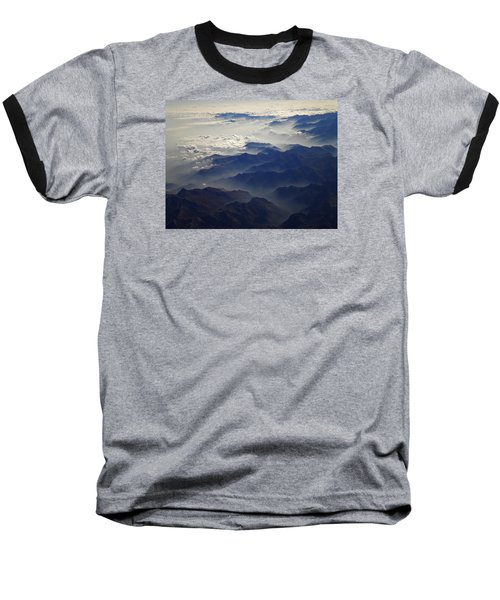 Flying Over The Alps In Europe Baseball T-Shirt