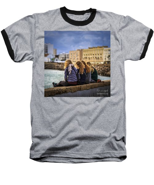 Foreign Students Cadiz Spain Baseball T-Shirt