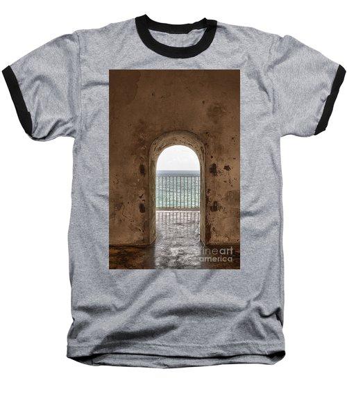 Fort Castillo San Felipe Del Morro Baseball T-Shirt