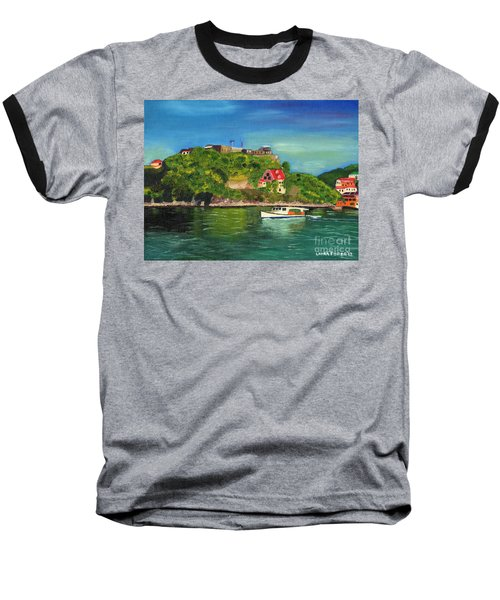 Fort George Grenada Baseball T-Shirt