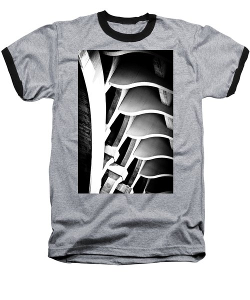Fractal Ford Baseball T-Shirt