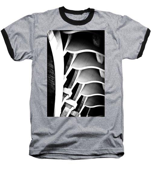 Fractal Ford Baseball T-Shirt