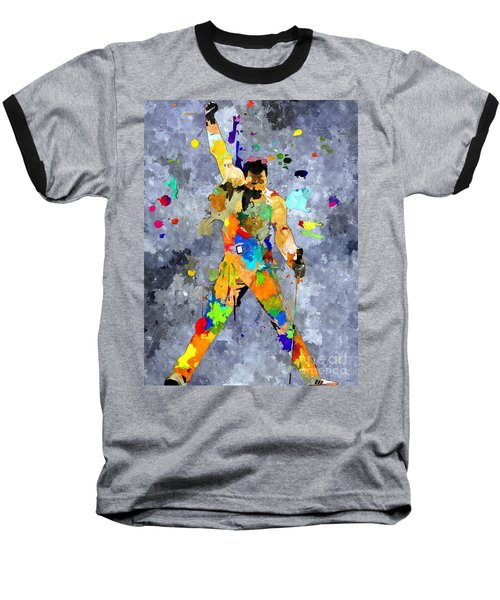 Freddie Mercury Baseball T-Shirt