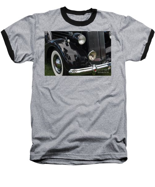 Baseball T-Shirt featuring the photograph Front Side Of A Classic Car by Gunter Nezhoda