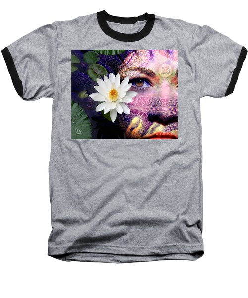 Full Moon Lakshmi Baseball T-Shirt