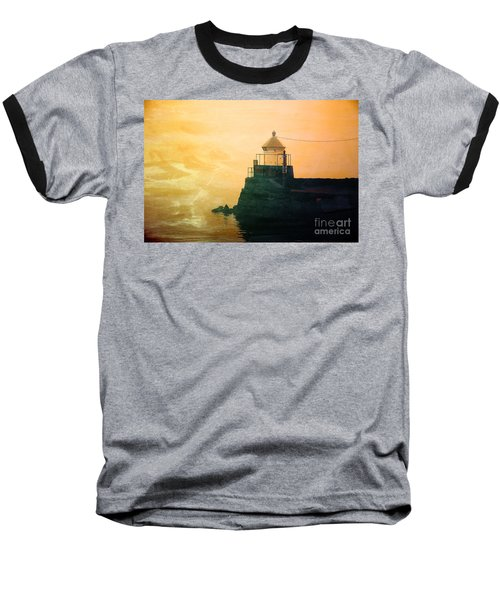 Fyllinga Lighthouse Baseball T-Shirt