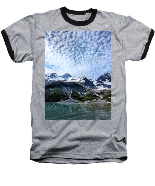 Baseball T-Shirt featuring the photograph Glacier Bay Beautiful by Kristin Elmquist