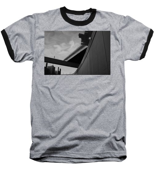Baseball T-Shirt featuring the photograph Going Under by Jamie Lynn